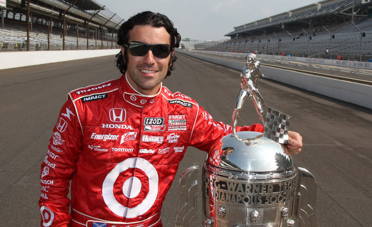 Racing Hot Lap of Indy with Dario Franchitti ...