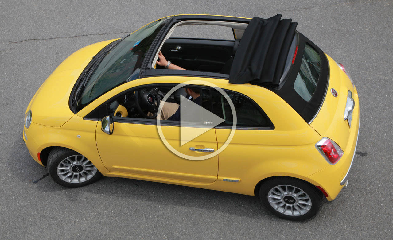 2012 fiat 500c video. Black Bedroom Furniture Sets. Home Design Ideas