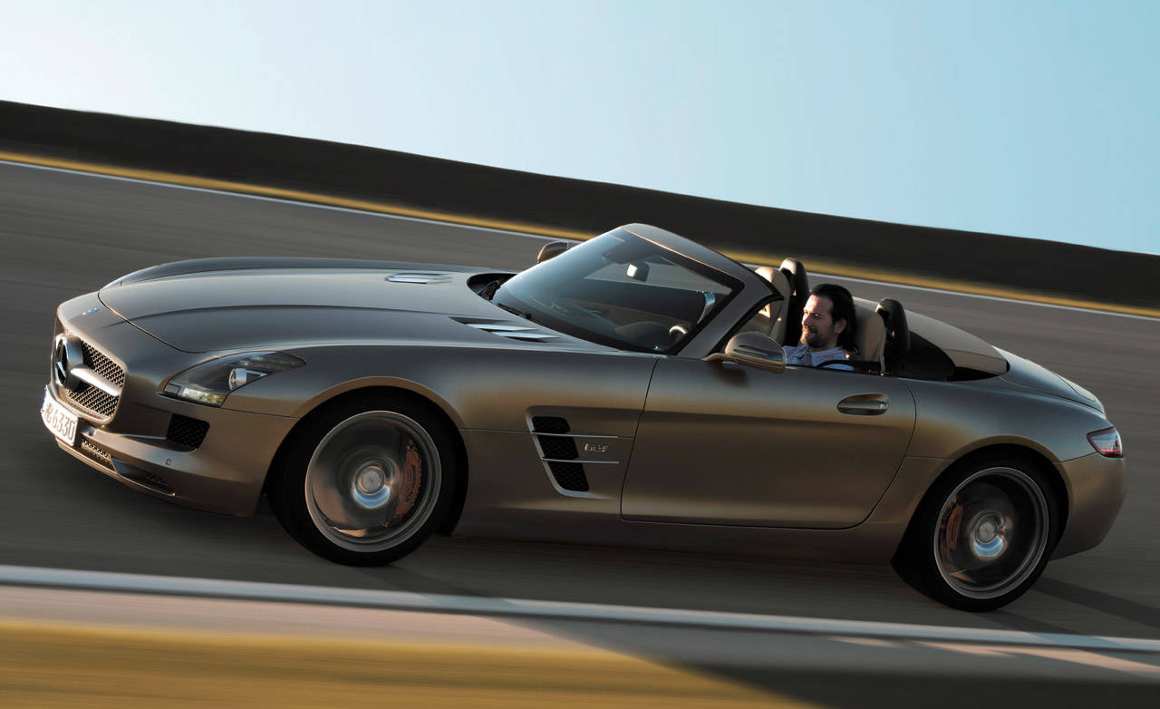 2012 mercedes benz sls amg roadster official news and photos. Black Bedroom Furniture Sets. Home Design Ideas