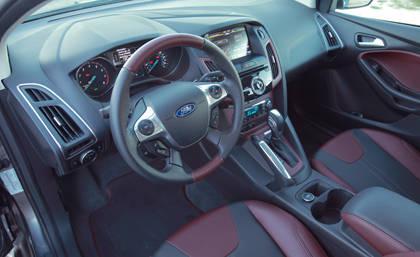 2012 ford focus 5 door hatchback titanium - Ford Focus 2012 Hatchback Interior