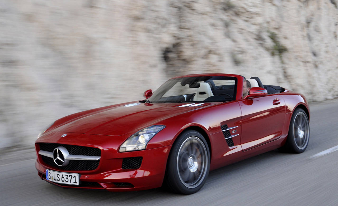 2012 mercedes benz sls amg roadster first drive review for 2012 mercedes benz sls amg