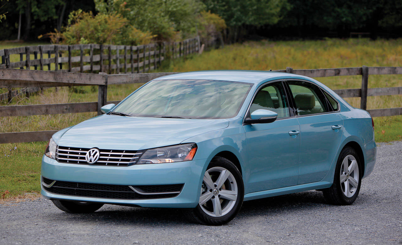 2012 volkswagen passat tdi first drive review. Black Bedroom Furniture Sets. Home Design Ideas