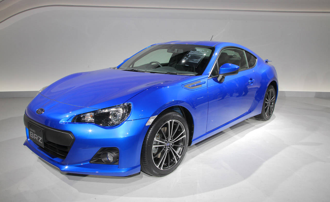 2013 subaru brz subaru brz pictures official specs at tokyo auto show. Black Bedroom Furniture Sets. Home Design Ideas