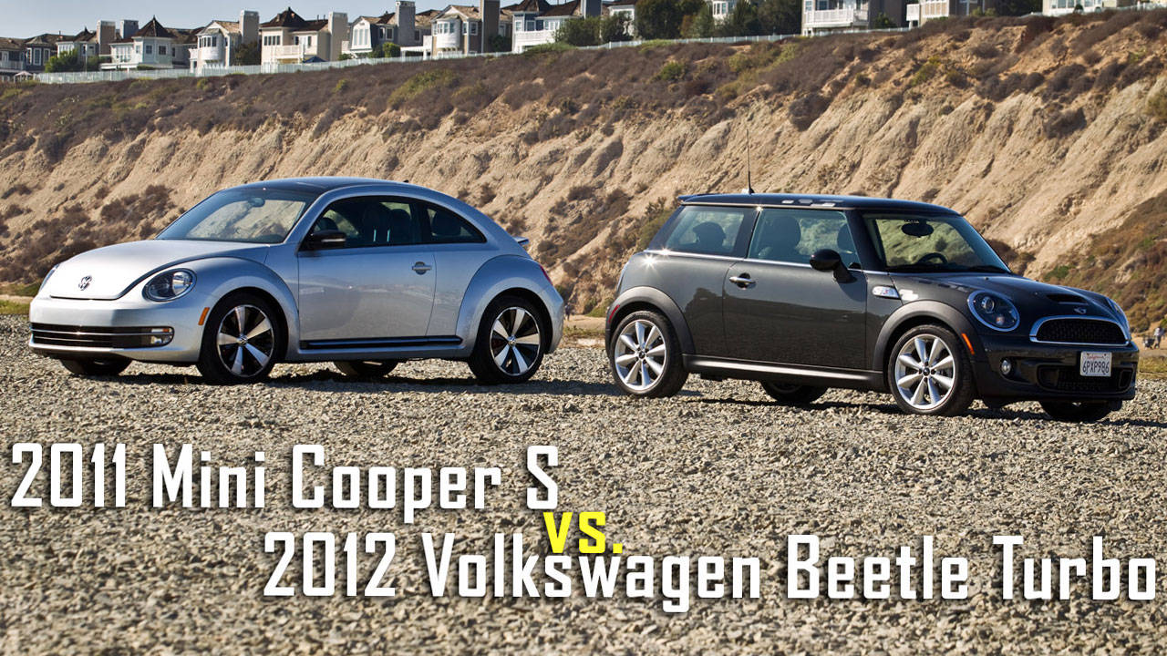 mini cooper s vs vw beetle turbo road test. Black Bedroom Furniture Sets. Home Design Ideas