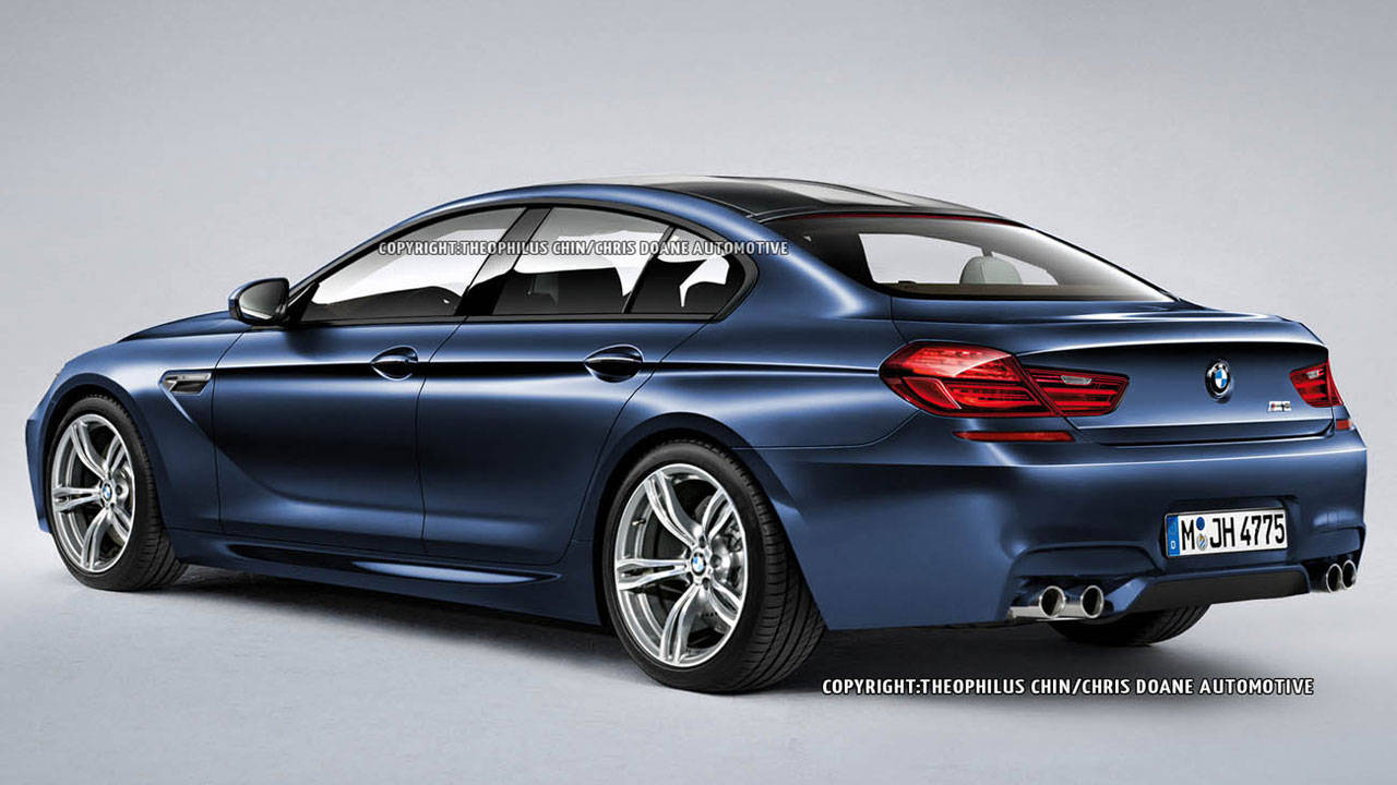 BMW M6 Gran Coupe Photos And Specs