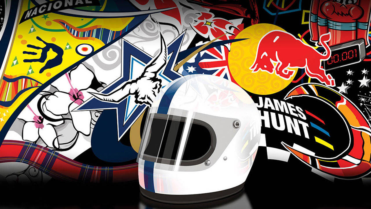 Heraldry Of The Crash Helmet The Importance Of Race
