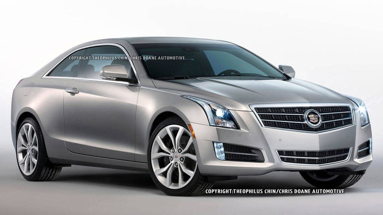 2014 Cadillac ATS Coupe First Photos and Details ...