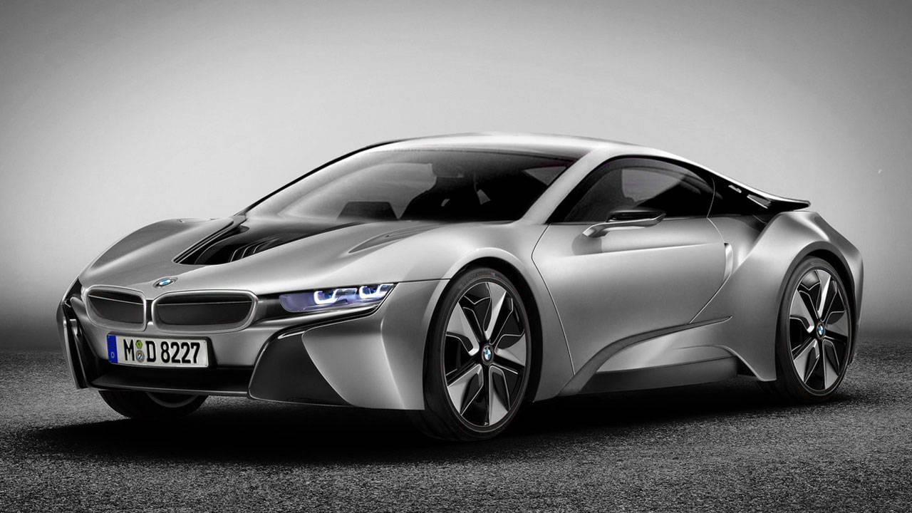 2014 BMW I8 Coupe Production Sheet-Metal Revealed
