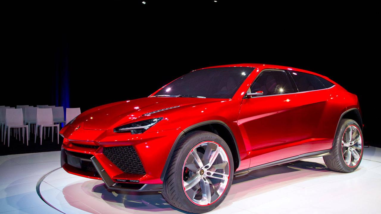 Video Lamborghini Urus Concept – Exclusive Lambo SUV Video ...
