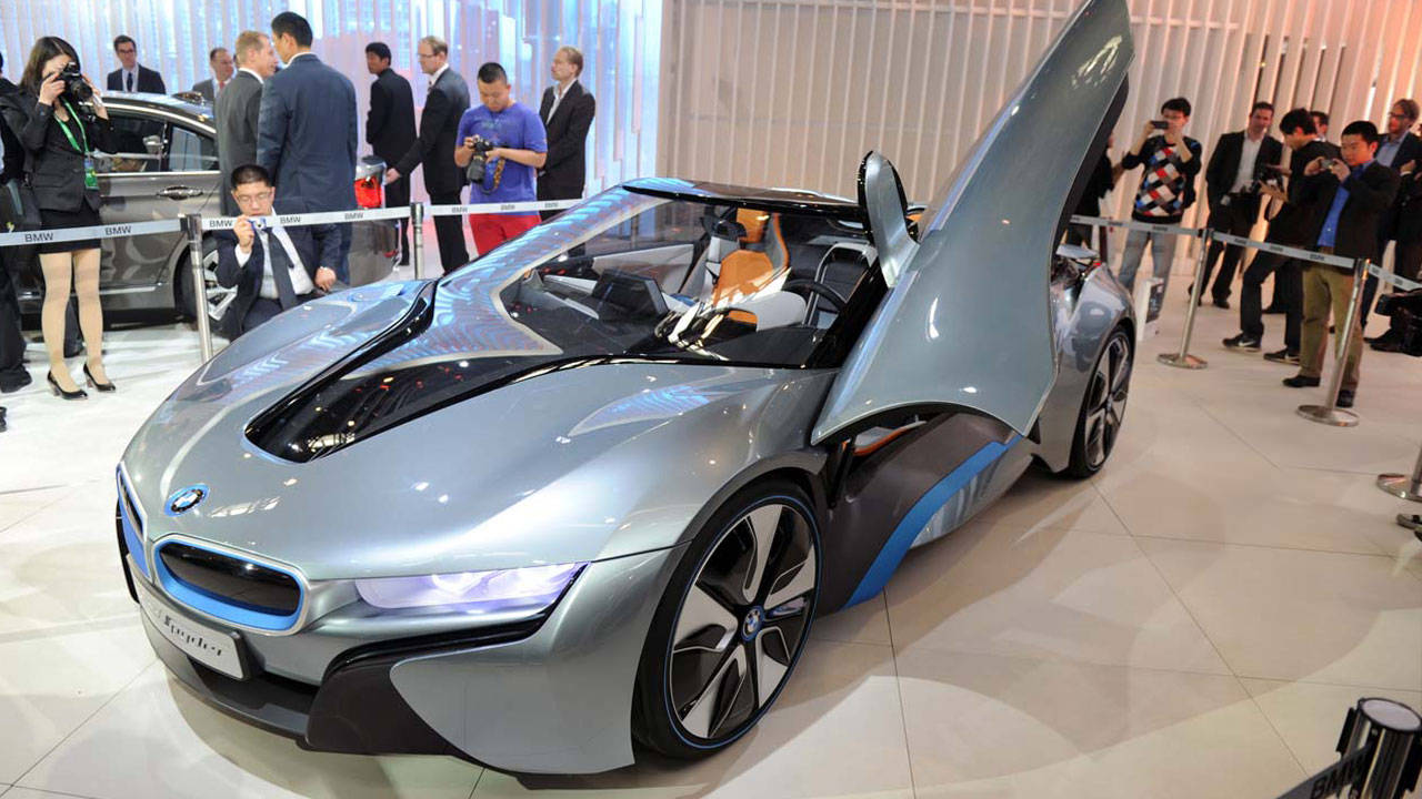 bmw i8 concept spyder photos  specs at 2012 beijing auto