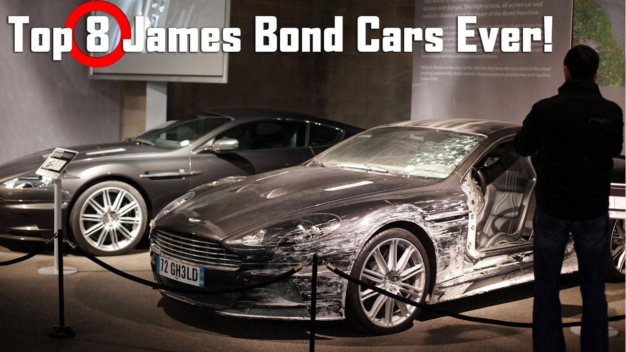 james bond film cars