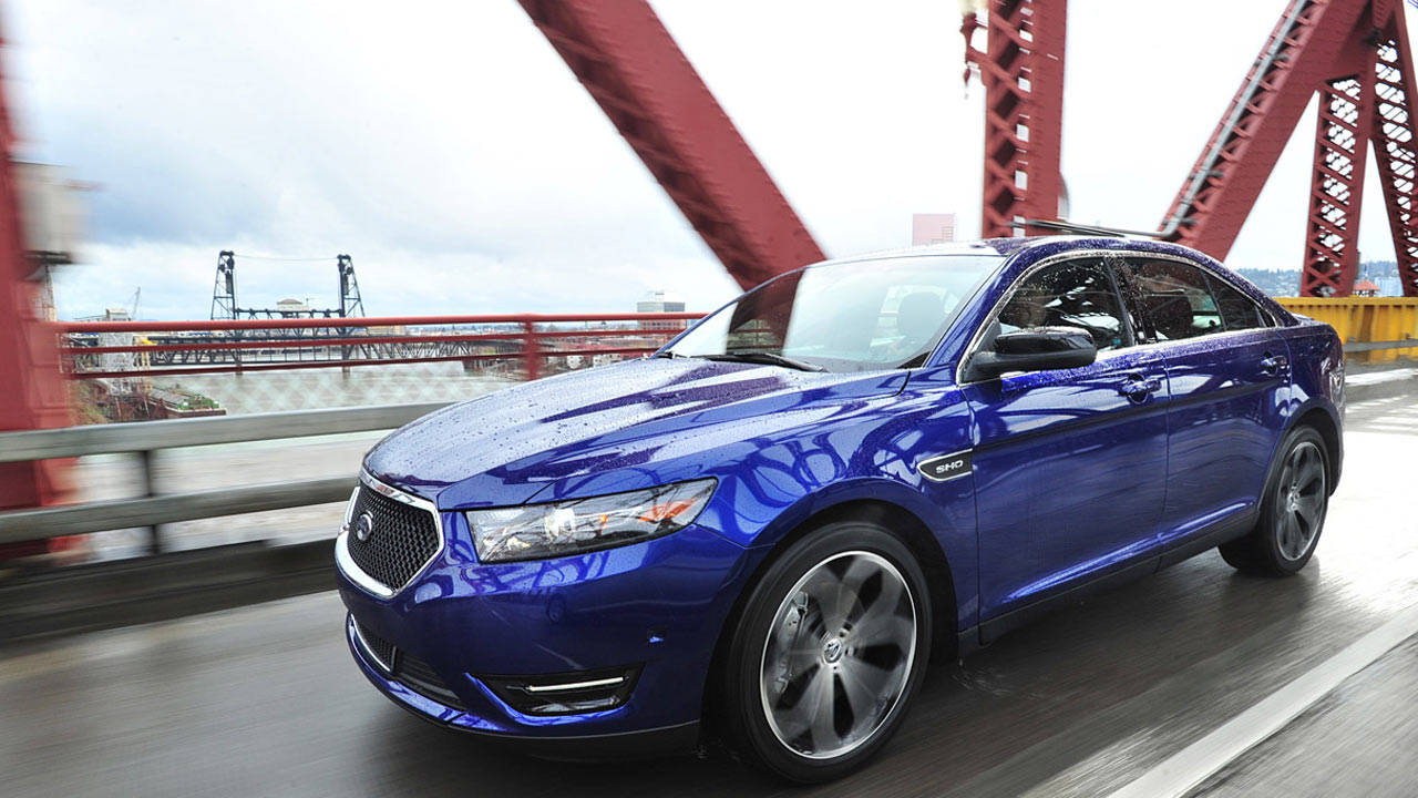 2013 Ford Taurus SHO with Performance Package Review ...