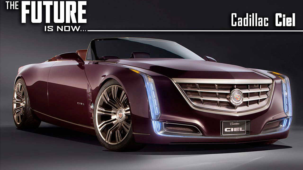 Cadillac Ciel Concept Car In-Depth