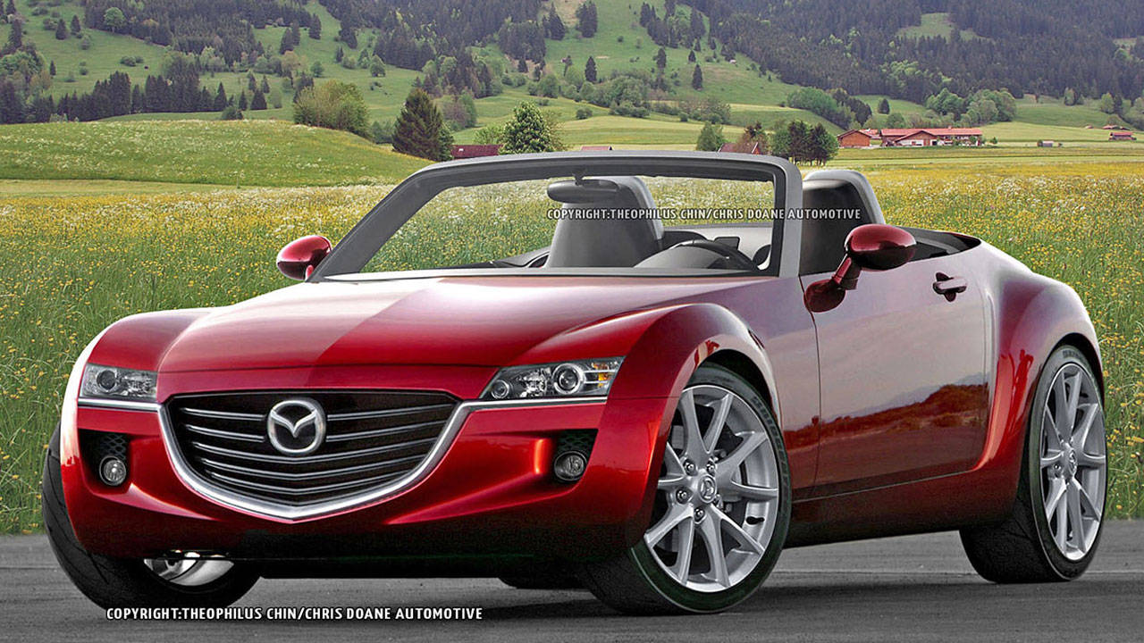 2014 mazda mx 5 miata and alfa romeo spyder first illustration and specs. Black Bedroom Furniture Sets. Home Design Ideas