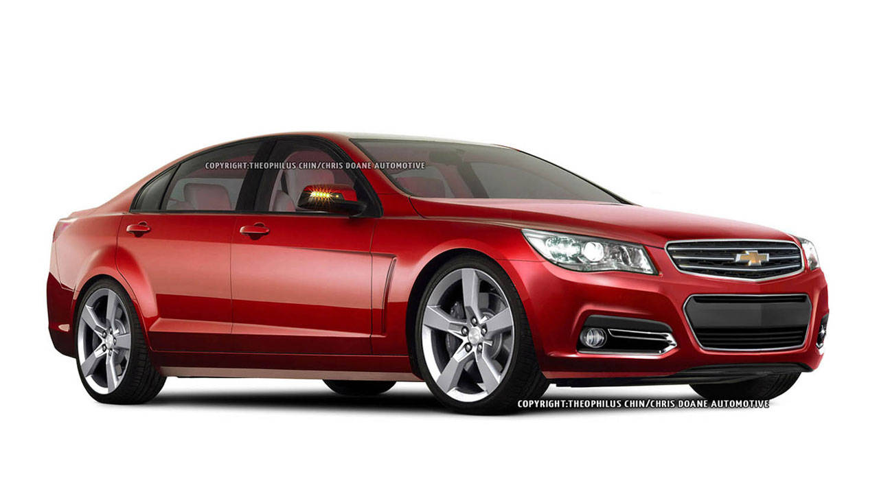 production ready 2014 chevrolet ss sedan photo illustrations and specs. Black Bedroom Furniture Sets. Home Design Ideas