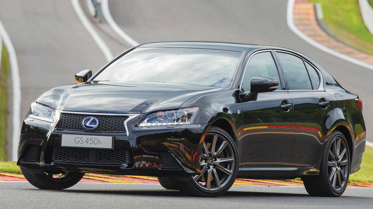2013 lexus gs 450h f sport review price photos and specs sporty hybrid from lexus. Black Bedroom Furniture Sets. Home Design Ideas