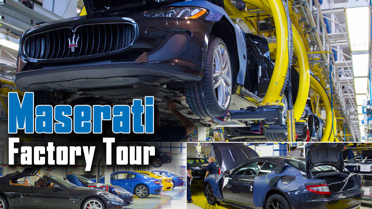 Maserati Factory Tour An Inside Look At Luxury Supercar