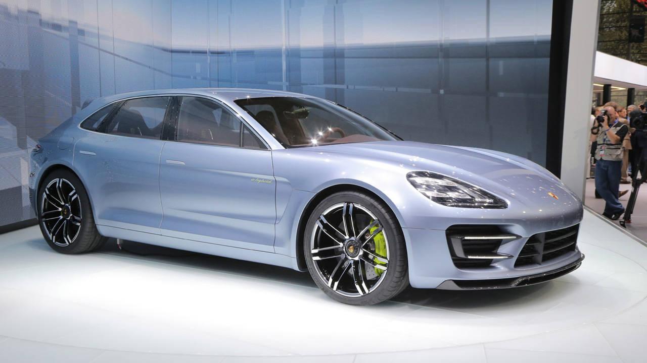 Porsche Panamera Sport Turismo Wagon Concept First Photos ...