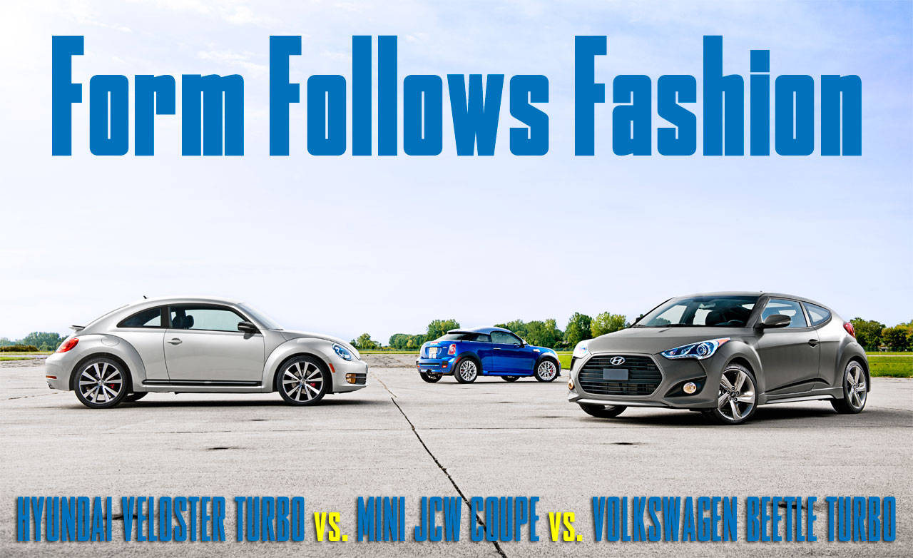 Hyundai Veloster Turbo Vs Mini John Cooper Works Coupe Vs
