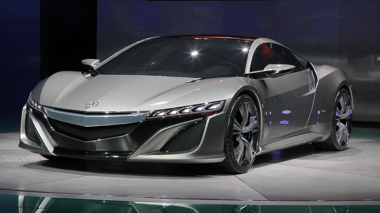 Honda Develops Three New Sport Hybrid Systems