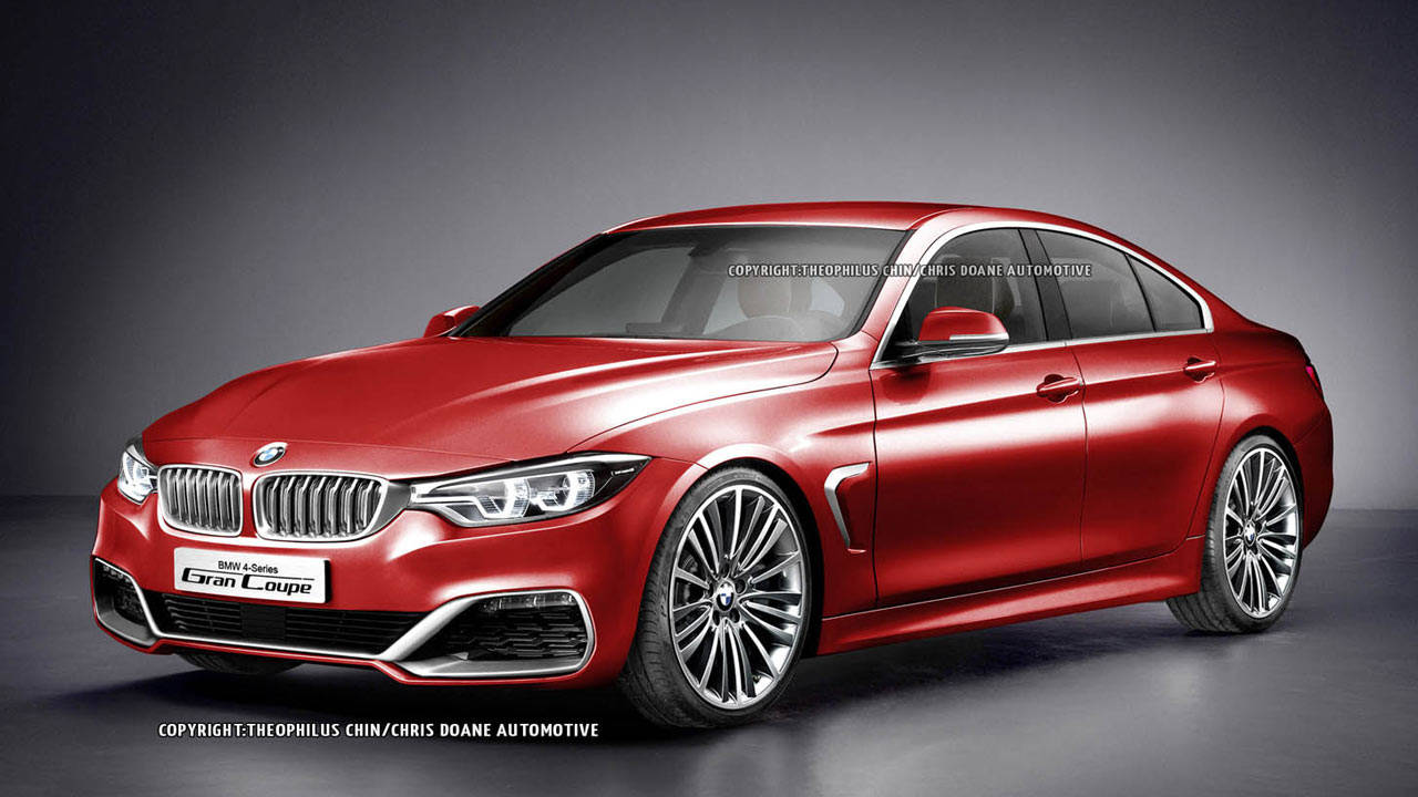 rendered bmw 4 series gran coupe. Black Bedroom Furniture Sets. Home Design Ideas