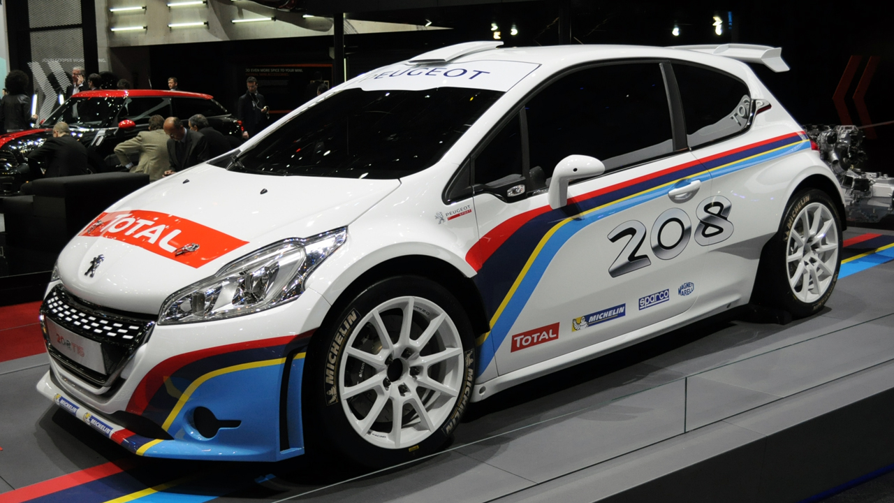 Geneva '13: Peugeot 208 T16 Rally Car