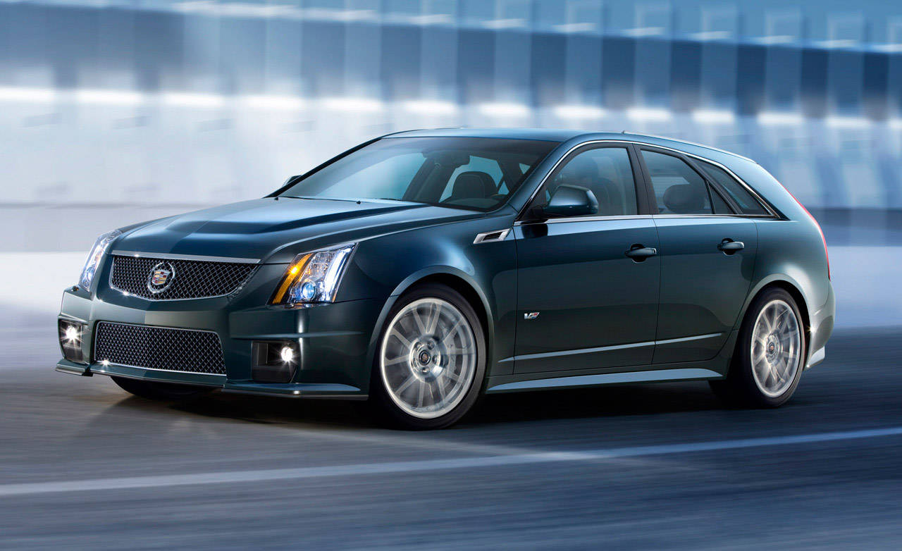 photos 2011 cadillac cts v sport wagon. Black Bedroom Furniture Sets. Home Design Ideas