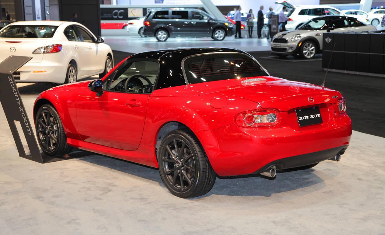 2012 mazda mx 5 miata special edition 2012 chicago auto show. Black Bedroom Furniture Sets. Home Design Ideas