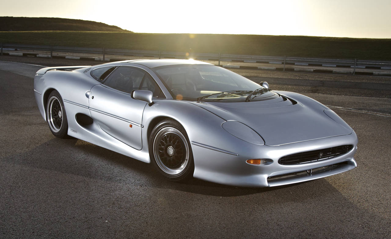 jaguar xj220 20 years later. Black Bedroom Furniture Sets. Home Design Ideas