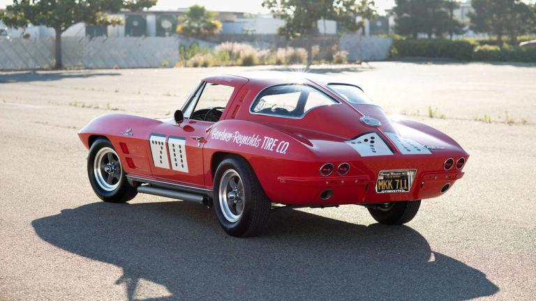 1963 Chevrolet Corvette Sting Ray Split Window Race Car 7 11