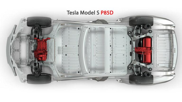 tesla model s p85 цена