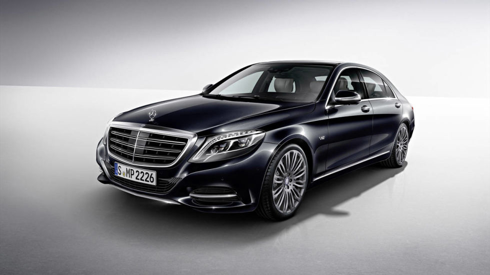 two turbos and more tech - 2015 Mercedes S Class White