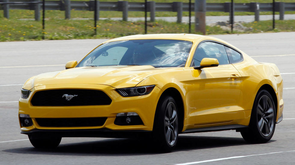 5 things we learned riding in the 2015 ford mustang ecoboost - 2015 Ford Mustang Ecoboost Performance Package