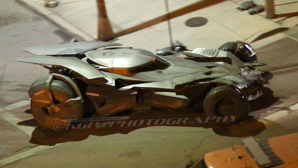 New Batmobile Spied On The Set Of 'Batman v Superman: Dawn Of Justice'
