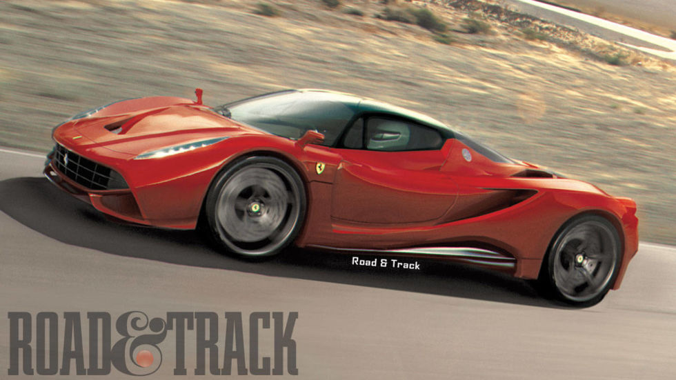 these exclusive artist renditions show what the next enzo could look like when the cover comes off at the 2013 geneva auto show - Ferrari 2014 Enzo
