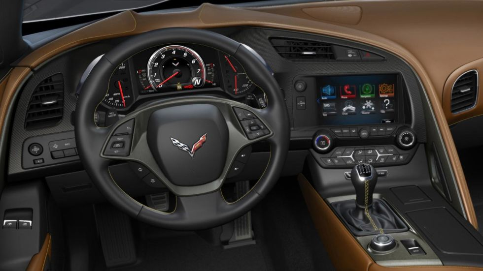 why the c7 corvette has a manual shifter and steering wheel paddles - Corvette 2013 Stingray Interior