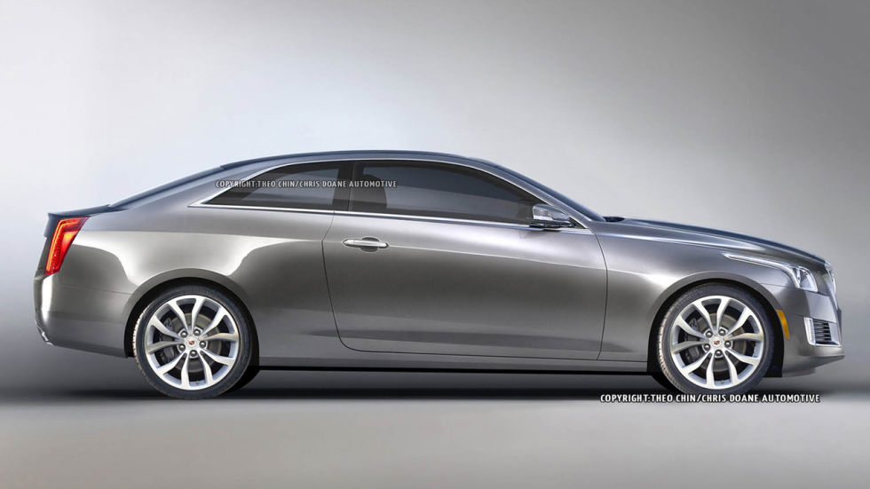 2014 cts v coupe renderings autos post. Black Bedroom Furniture Sets. Home Design Ideas