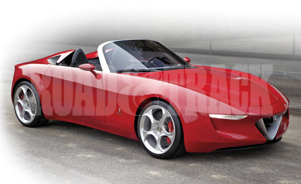 sports cars of the future 2014 alfa romeo spider - Sports Cars Of The Future