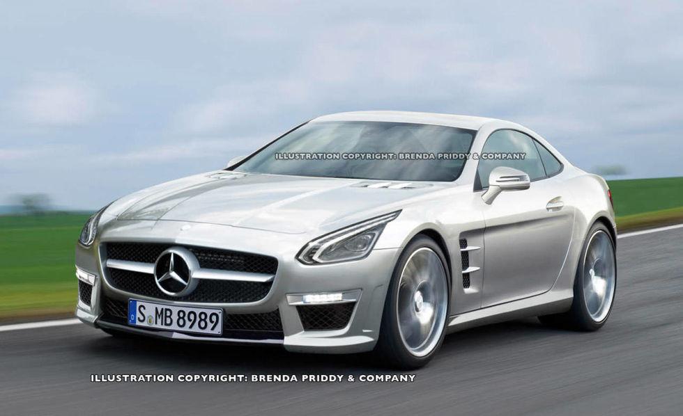future car 2014 mercedes benz slc mercedes to build rival to porsche 911 - Mercedes Benz 2014 Sports Car