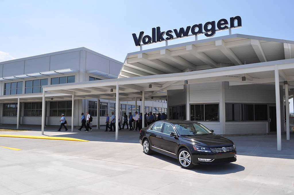 Touring the New Volkswagen Factory in Chattanooga