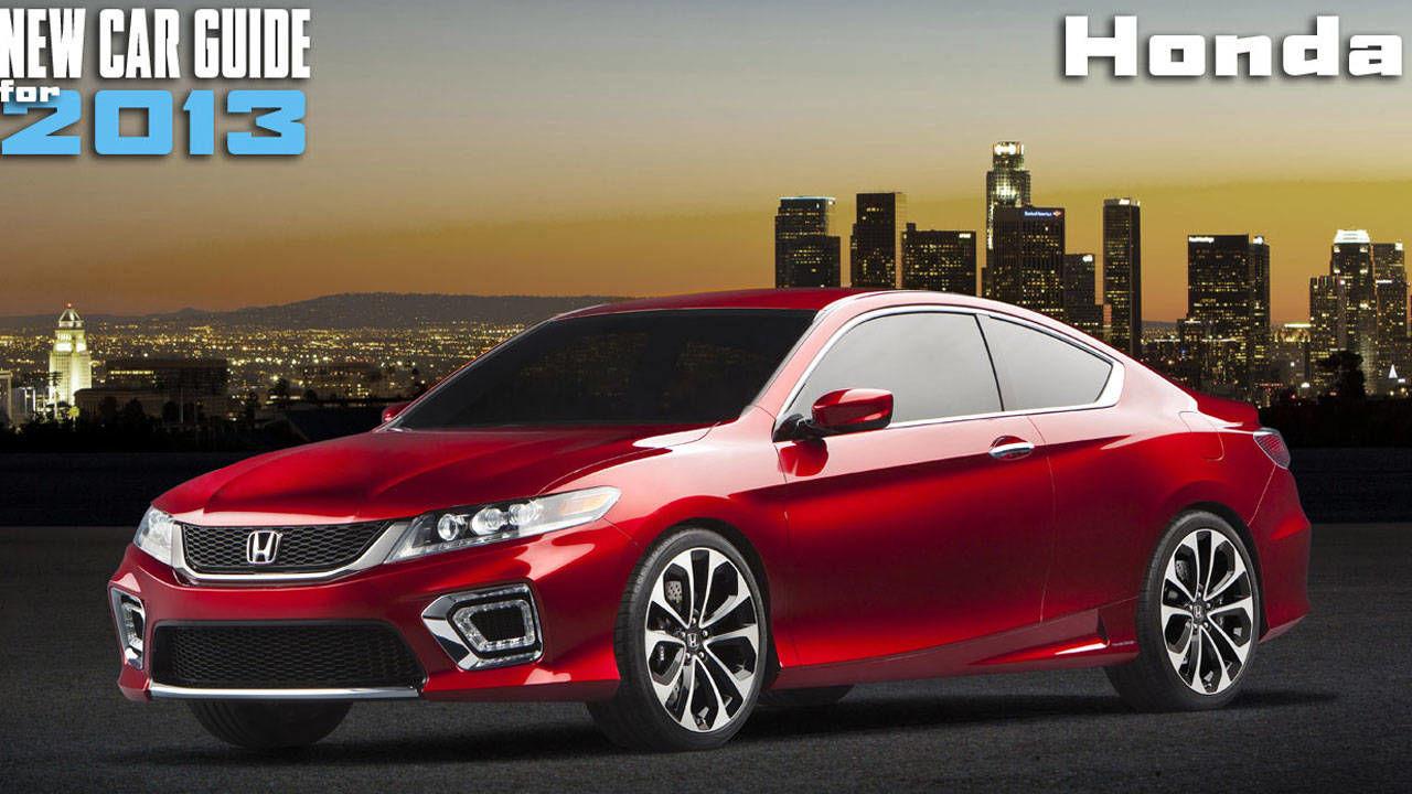 New Honda Models 2013