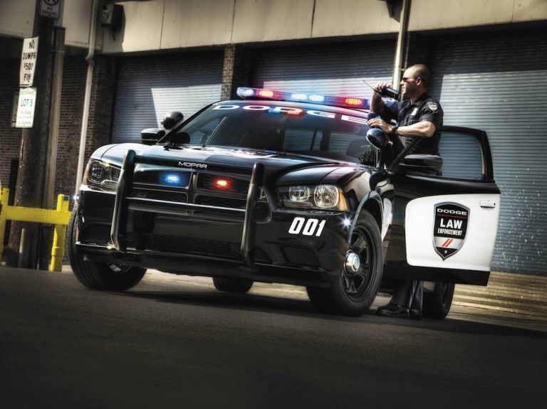 Mopar police cars are ready for duty right from the manufacturer