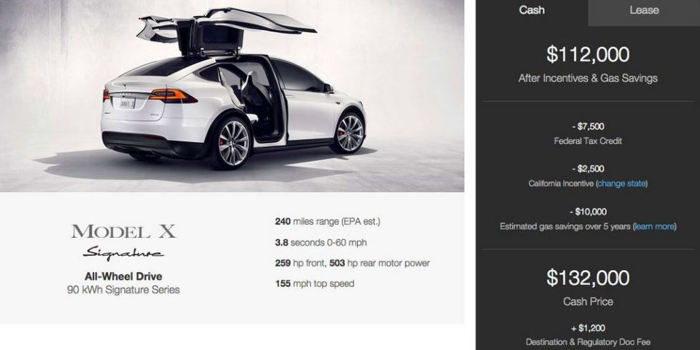 Tesla's New SUV has $132,000 Price Tag |