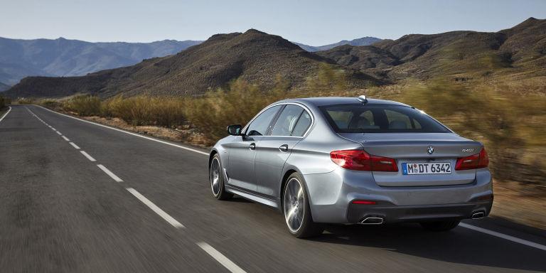 2018 BMW 5 Series rear