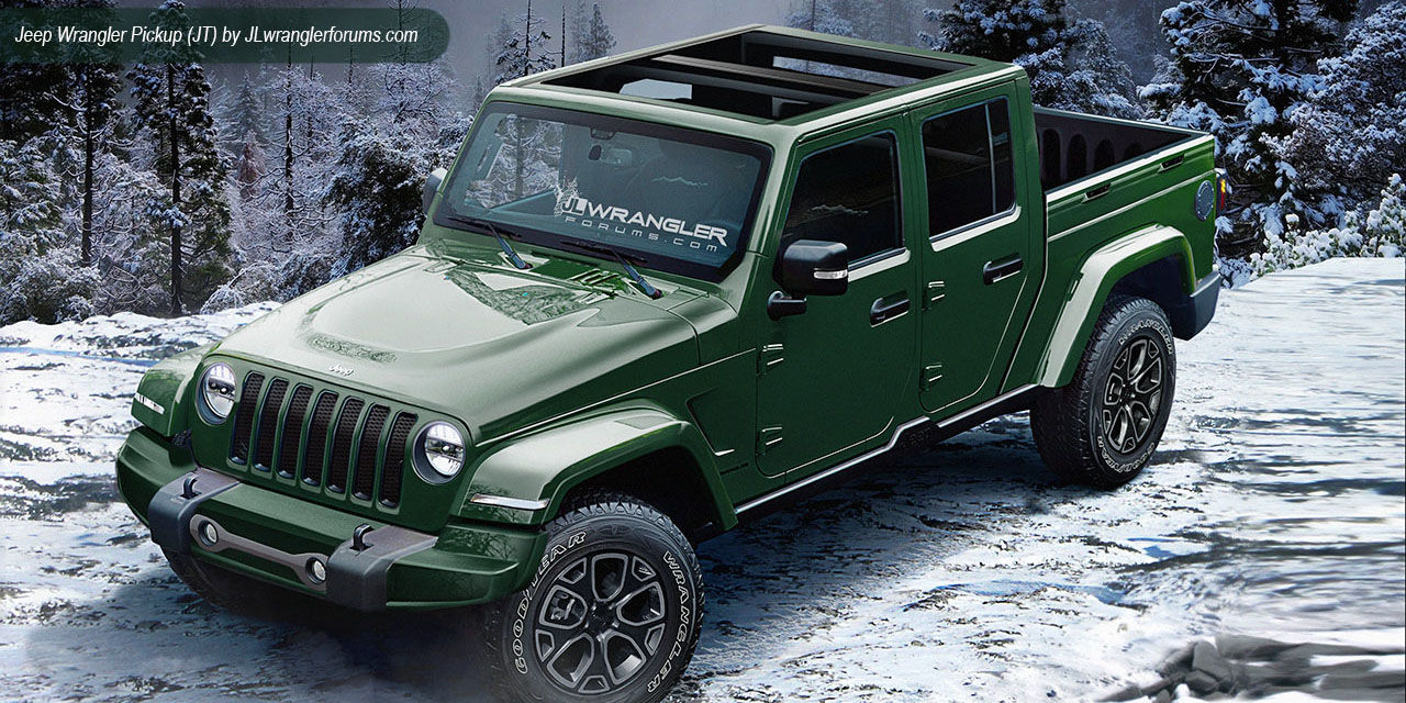 New Jeep Wrangler Pickup Truck Design