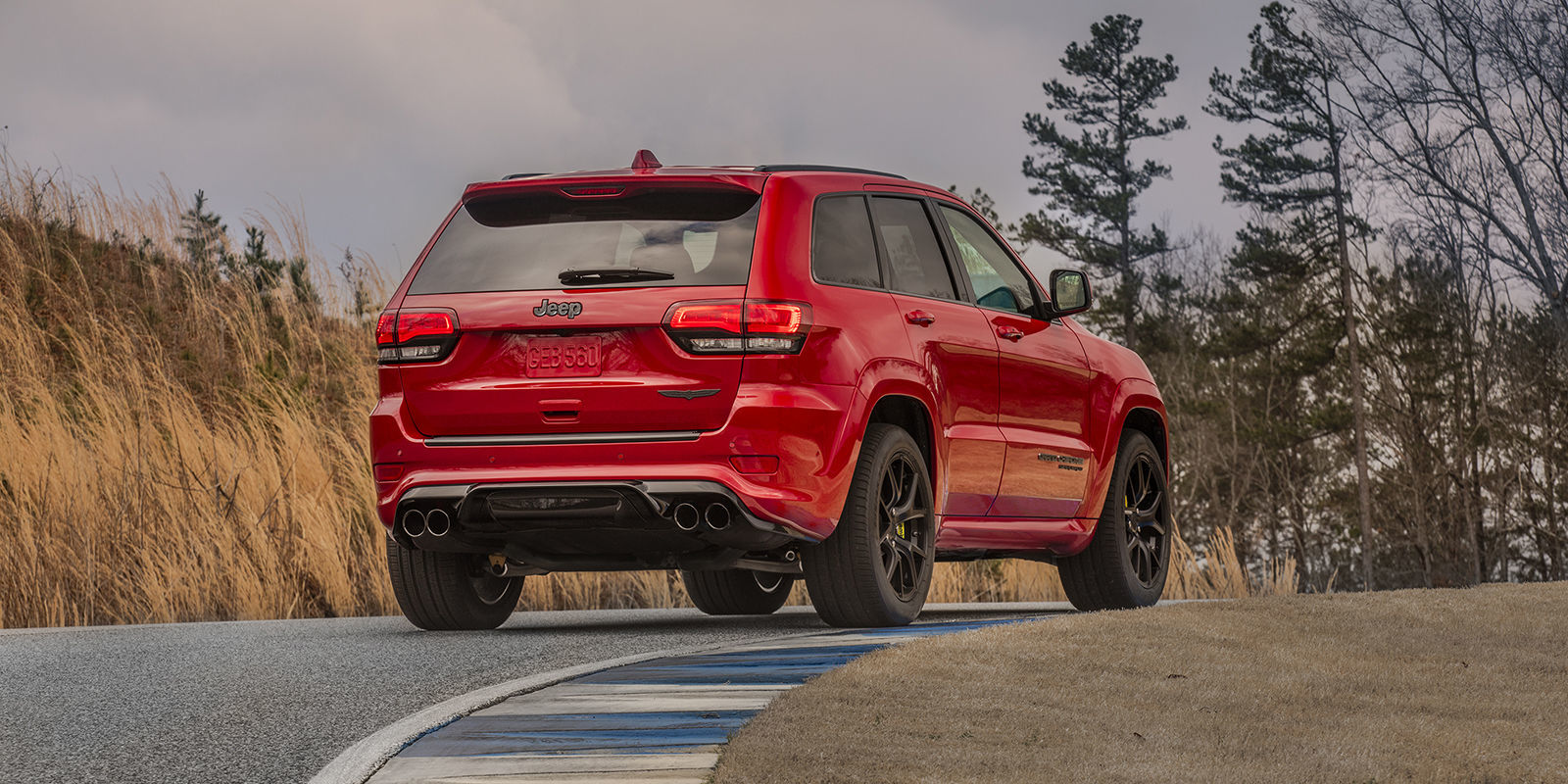 Jeep Grand Cherokee Trackhawk 0-60