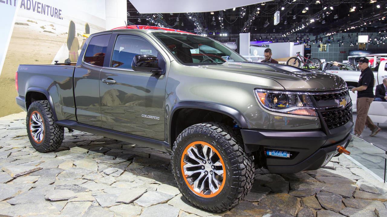 The Chevrolet Colorado ZR2 diesel concept is amazing