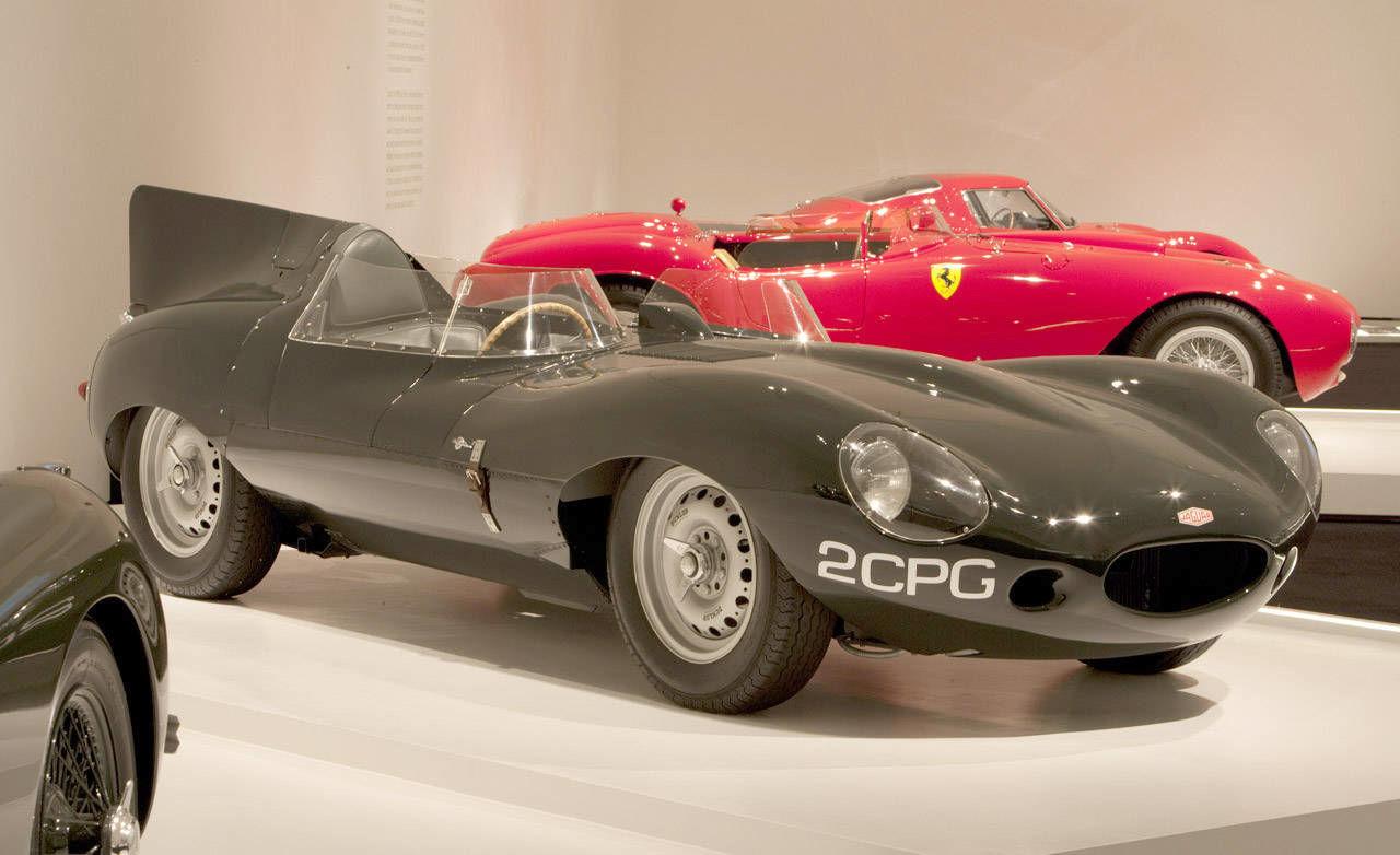Photos: 1955 Jaguar D-Type