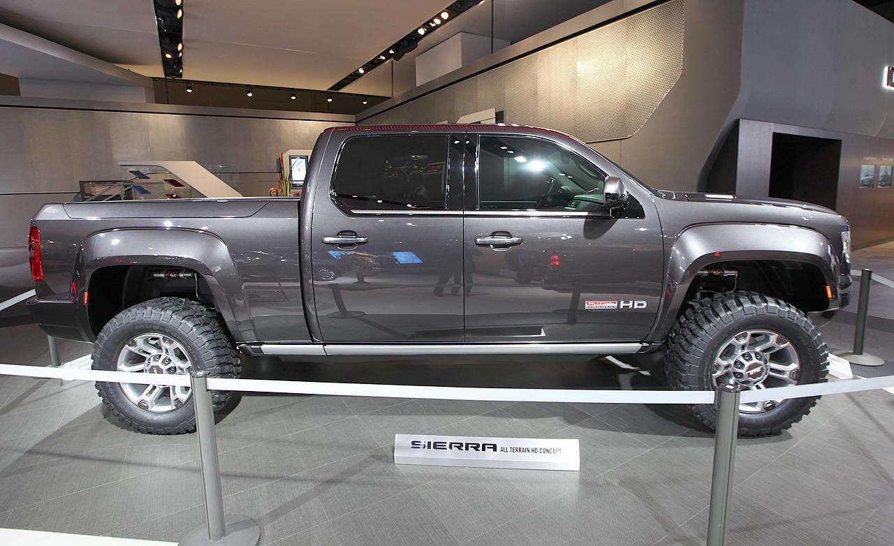 2011 GMC Sierra All Terrain HD Concept at 2011 Detroit ...